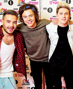 Liam, Harry and Niall