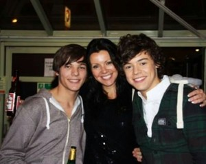 Lou, Anne and Harry