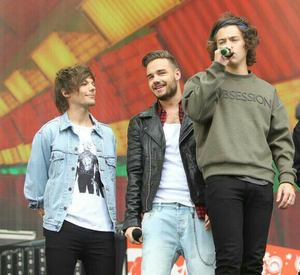 Lou, Liam and harry