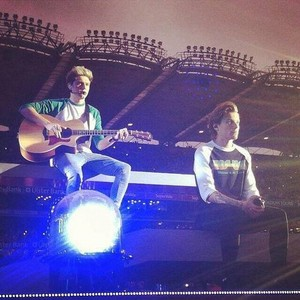 Louis and Niall- - Croke Park