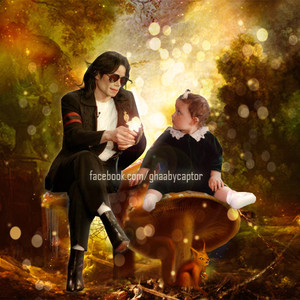 Michael Jackson y Paris jackson