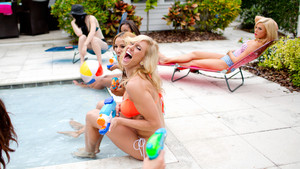 NXT's Summer Vacation - Pool Party