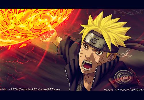 naruto shippuuden fondo de pantalla entitled *Naruto : Senpou Uouton Rasen Shuriken*