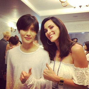 [PIC/140526] Taemin mentioned in instagram of Stefania Sampinato (actress from Sicily)