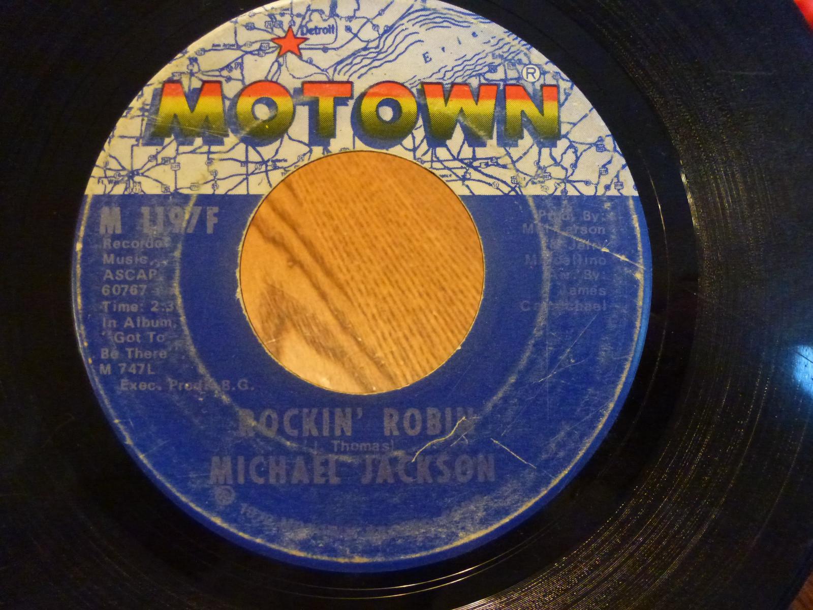 """""""Rockin' Robin"""" On 45 RPM"""