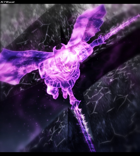 Naruto Shippuuden wallpaper called *Sasuke Perfect Susanoo*