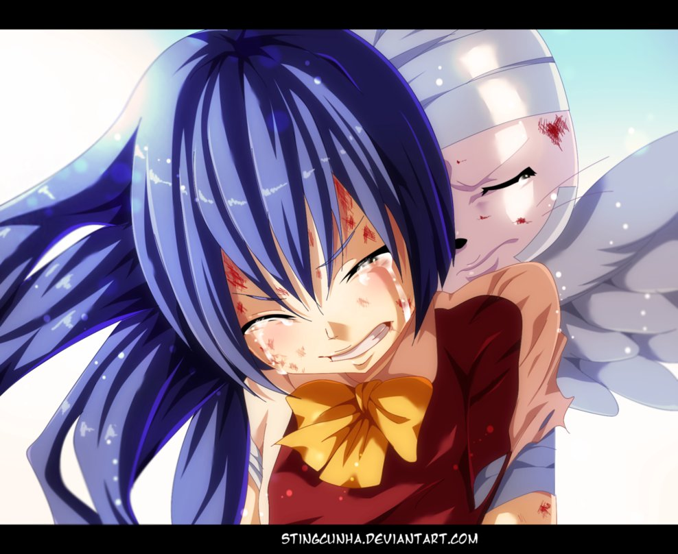 Fairy Tail Images Wendy Carla Got Saved Hd Fond Dcran And