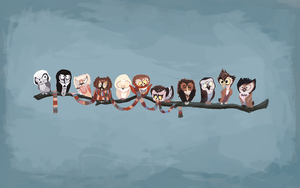 12 Doctors as owls
