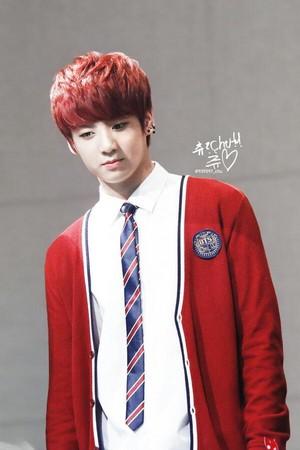 140517 Jungkook @ Daejeon Fansign