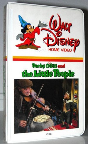"1959 Disney Film, ""Darby O'Gill And The Little People"" On utama kaset video, videocassette"