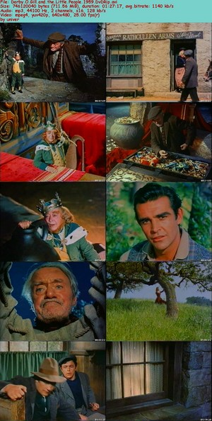 "1959 디즈니 Film, ""Darby O'Gill And The Little People"""