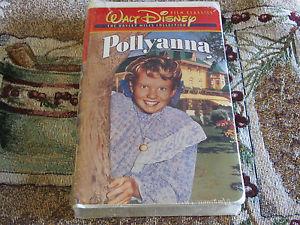 """1960 disney Film, """"Pollyanna"""", On início videocassete"""