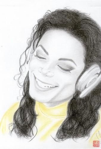 "Michael Jackson kertas dinding titled 1995 Video, ""Scream"""