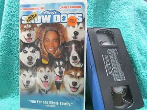 "2002 Disney Film, ""Snow Dogs"", On home pagina video cassette, videocassette"