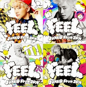2PM Junho releases jaket foto-foto for 2nd J-mini album 'Feel'
