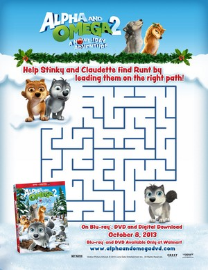 A Howl-iday Adventure maze