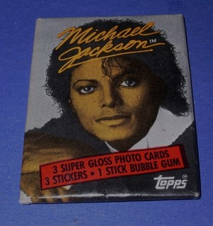 A Pack Of Michael Jackson Trading Cards