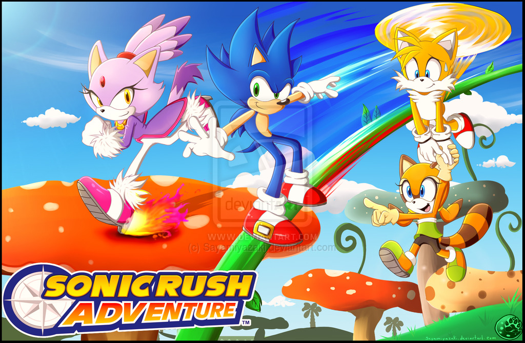 Sonic Rush Images A Sonic Rush Adventure Hd Wallpaper And Background