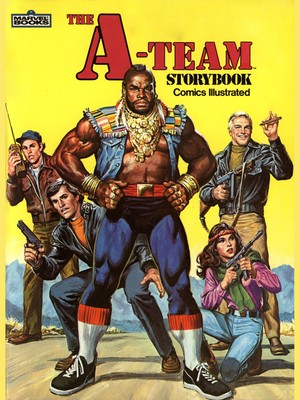 A-Team Comic Cover