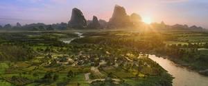 A Village 次 to a River