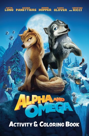 Alpha and Omega Activity and Coloring Book Cover