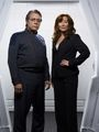 Adama & Roslin - battlestar-galactica photo
