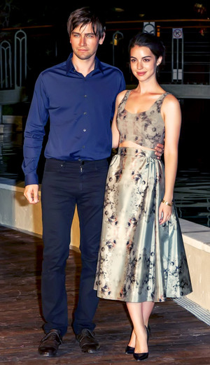 Adelaide Kane and Torrance Coombs at the 54th Monte-Carlo 电视 Festival
