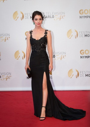 Adelaide Kane at the 54th Monte-Carlo Fernsehen Festival
