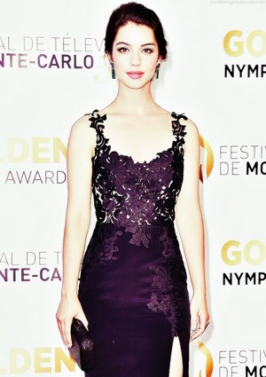 Adelaide Kane at the 54th Monte-Carlo Televisyen Festival