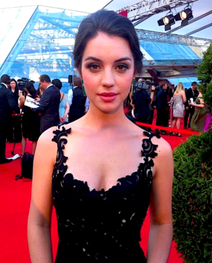 Adelaide Kane at the 54th Monte-Carlo televisión Festival