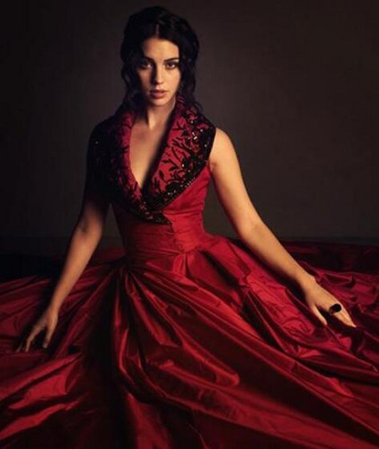 Reign [TV Show] fondo de pantalla containing a cena dress, a gown, and a balldress, pelota entitled Adelaide Kane