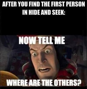 After you find the first person
