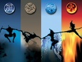 Air, earth, water, fire - the-four-elements wallpaper