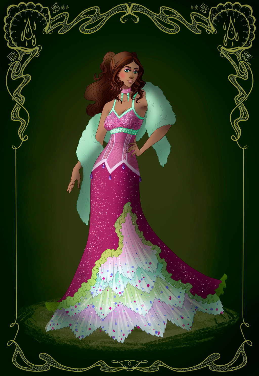 Aisha: Season 3 Ball Dress