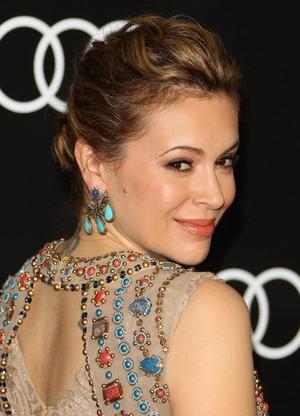 Alyssa @ Audi Celebrates Golden Globes Weekend (January 9th)