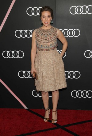 Alyssa @ Audi Celebrates Golden Globes Weekend (January 9th)