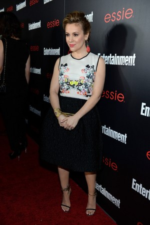 Alyssa @ Entertainment Weekly SAG Awards Pre-Party - (January 17th)
