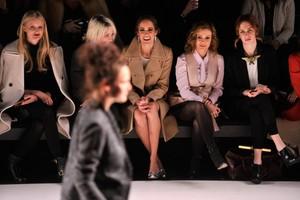 Alyssa @ Mercedes-Benz Fashion Week Fall 2014 (February 6th)