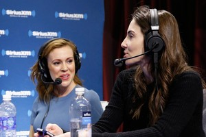 Alyssa @ SiriusXM at Super Bowl XLVIII Radio Row (January 31st)