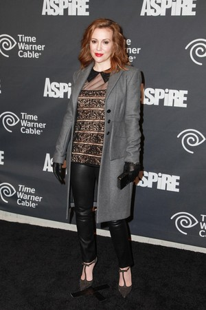 Alyssa @ Time Warner Cable Studios And Aspire Bring Soul To The Big Game (January 31st)