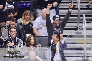 Alyssa & David @ LA Kings Game