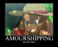 Amourshippings (sorry pokeshippers)