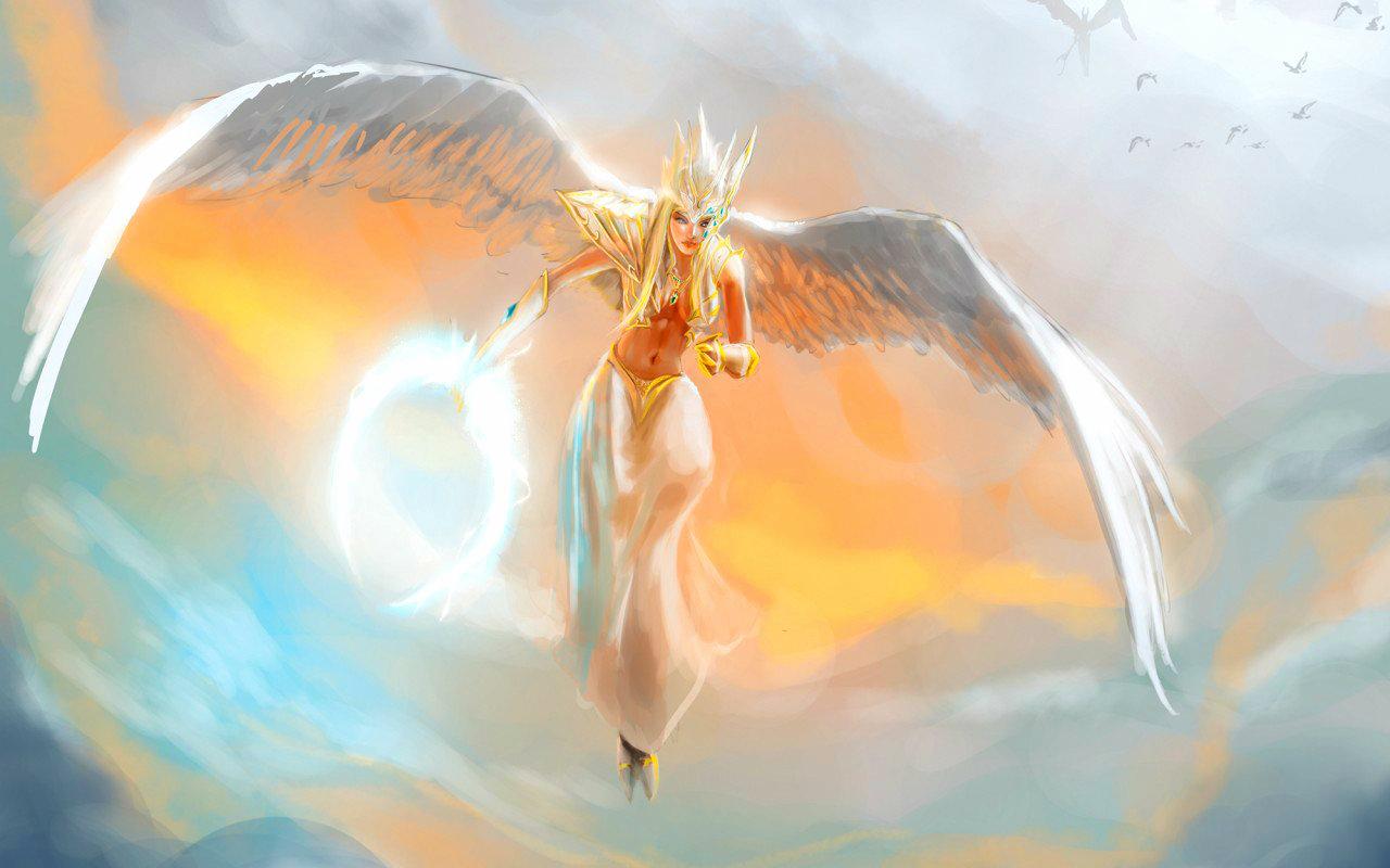 Http Www Fanpop Com Clubs Fantasy Images 37147233 Title Angel Wallpaper