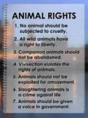 動物の権利
