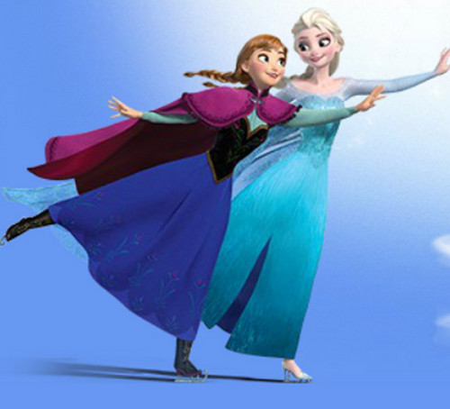Frozen wallpaper entitled Anna and Elsa