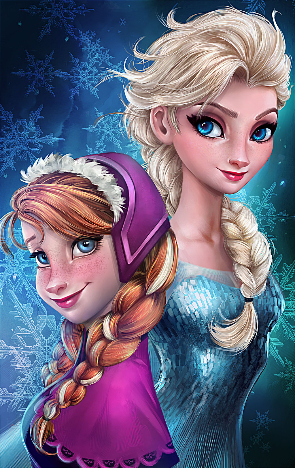 Anna and elsa princess anna fan art 37115848 fanpop - Princesse anna et elsa ...