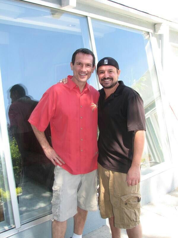 Anthony Tyler Quinn and Will Friedle