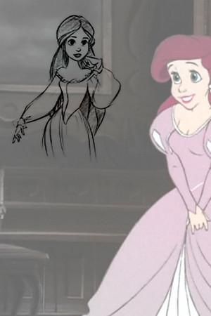Ariel Concept Art vs. Final