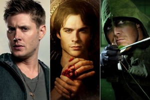 Arrow, The vampire diaries, Supernaural