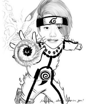 As Naruto!